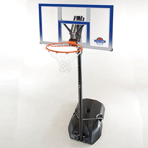 "Lifetime 48"" Basket mål flytbar"