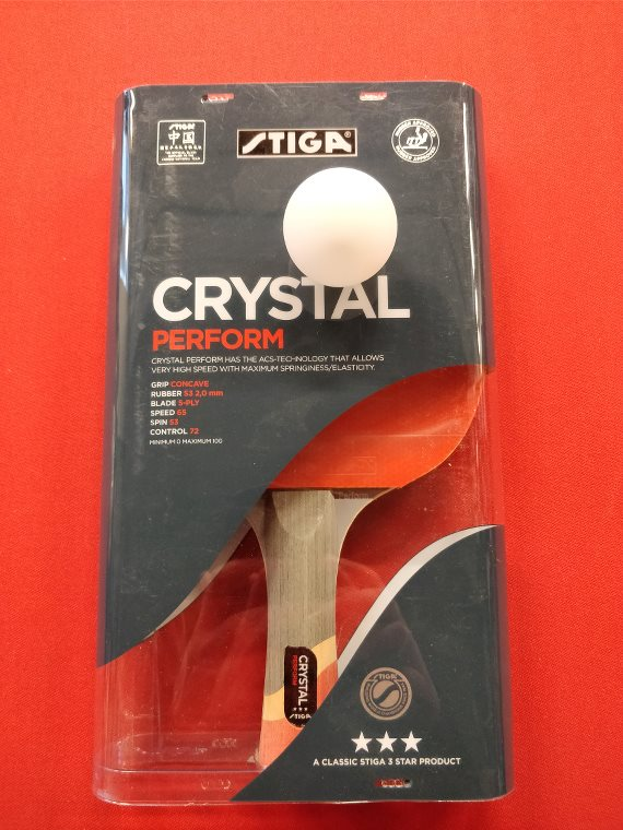 Stiga Crystal Perform bordtennisbat