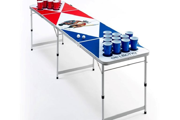 Beer Pong Bord LED i stilrent og klassisk design!